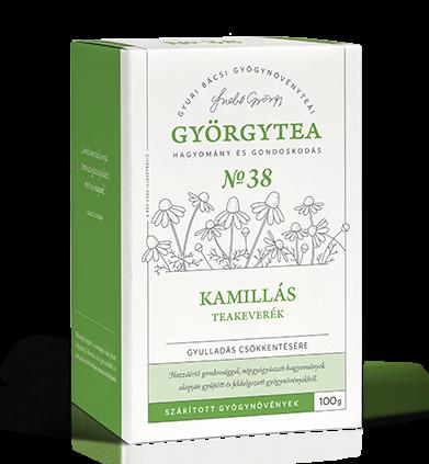 Kamillás teakeverék (Gyulladás csökkentésére) 50g - Györgytea Webáruház